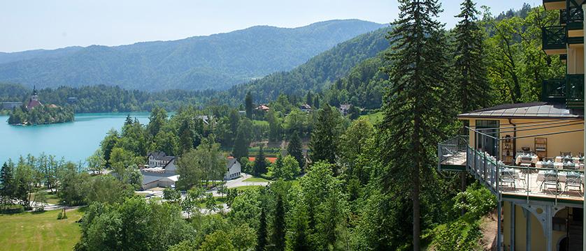 Hotel Triglav, Lake Bled, Slovenia - view from terrace.jpg
